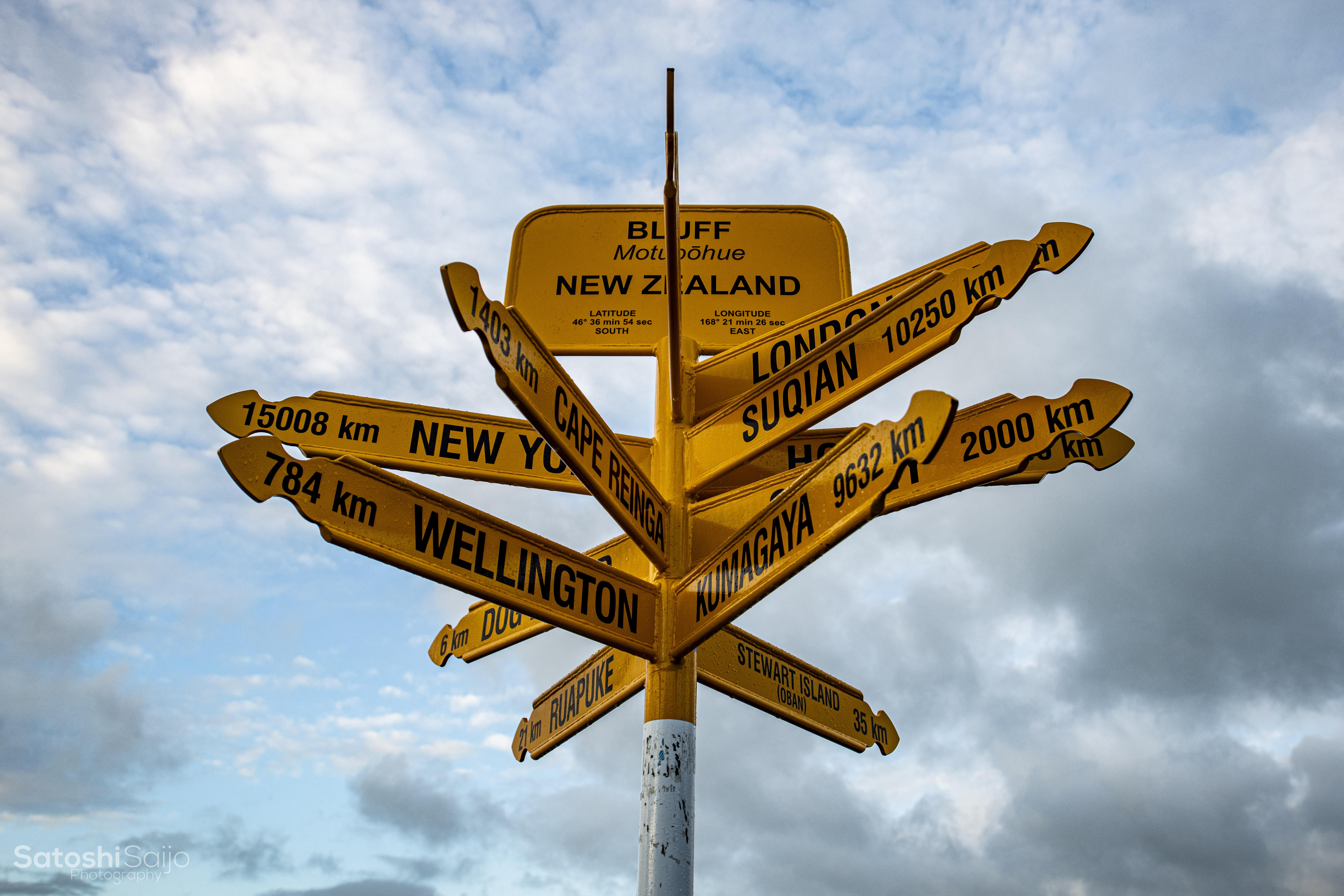 ニュージーランドトリップ【キャンピングカーの旅】Day5〜Day6 ブラフ〜インバーカーギル〜ワナカ〜ロイズピーク