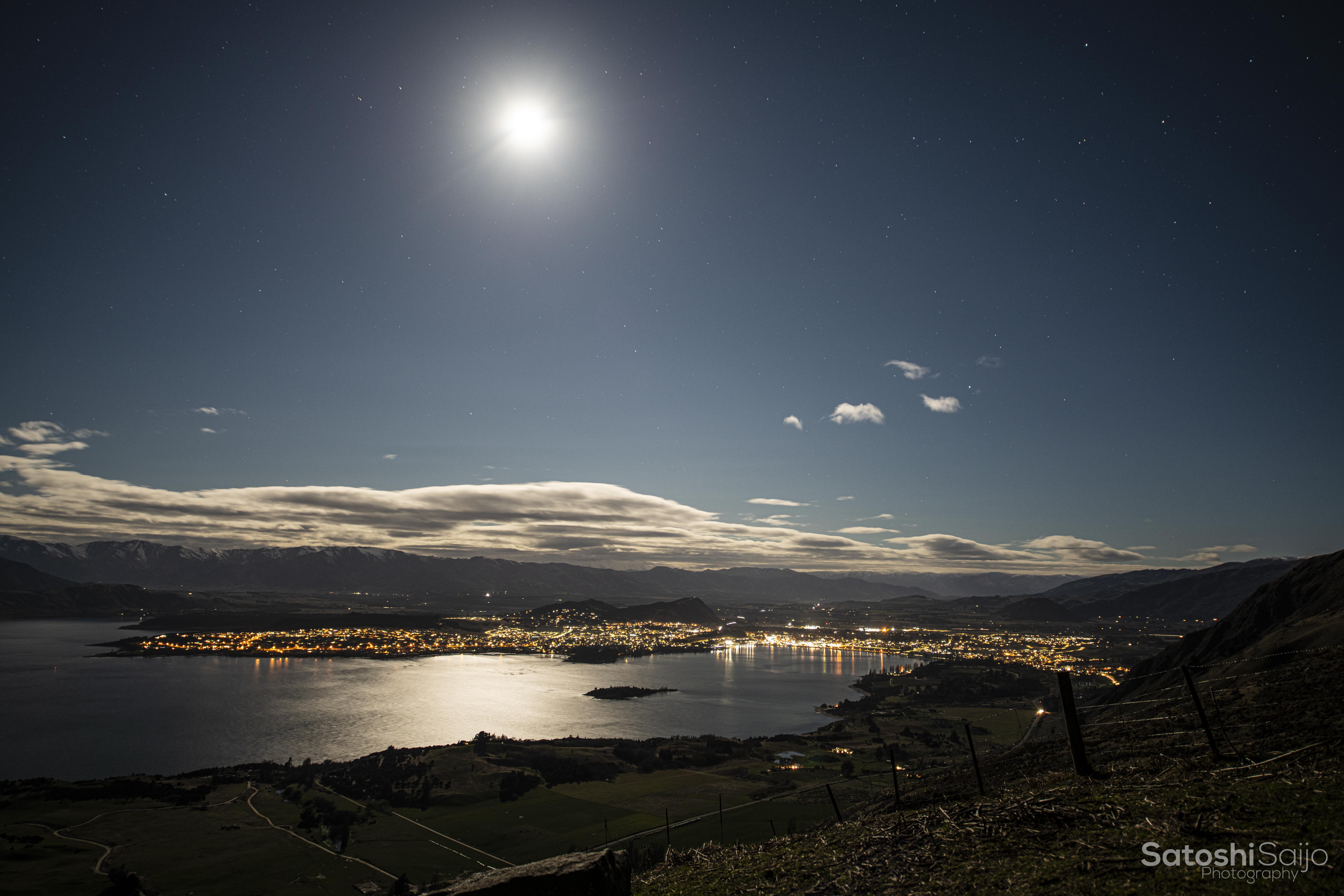 New Zealand〜ワナカの夜景〜
