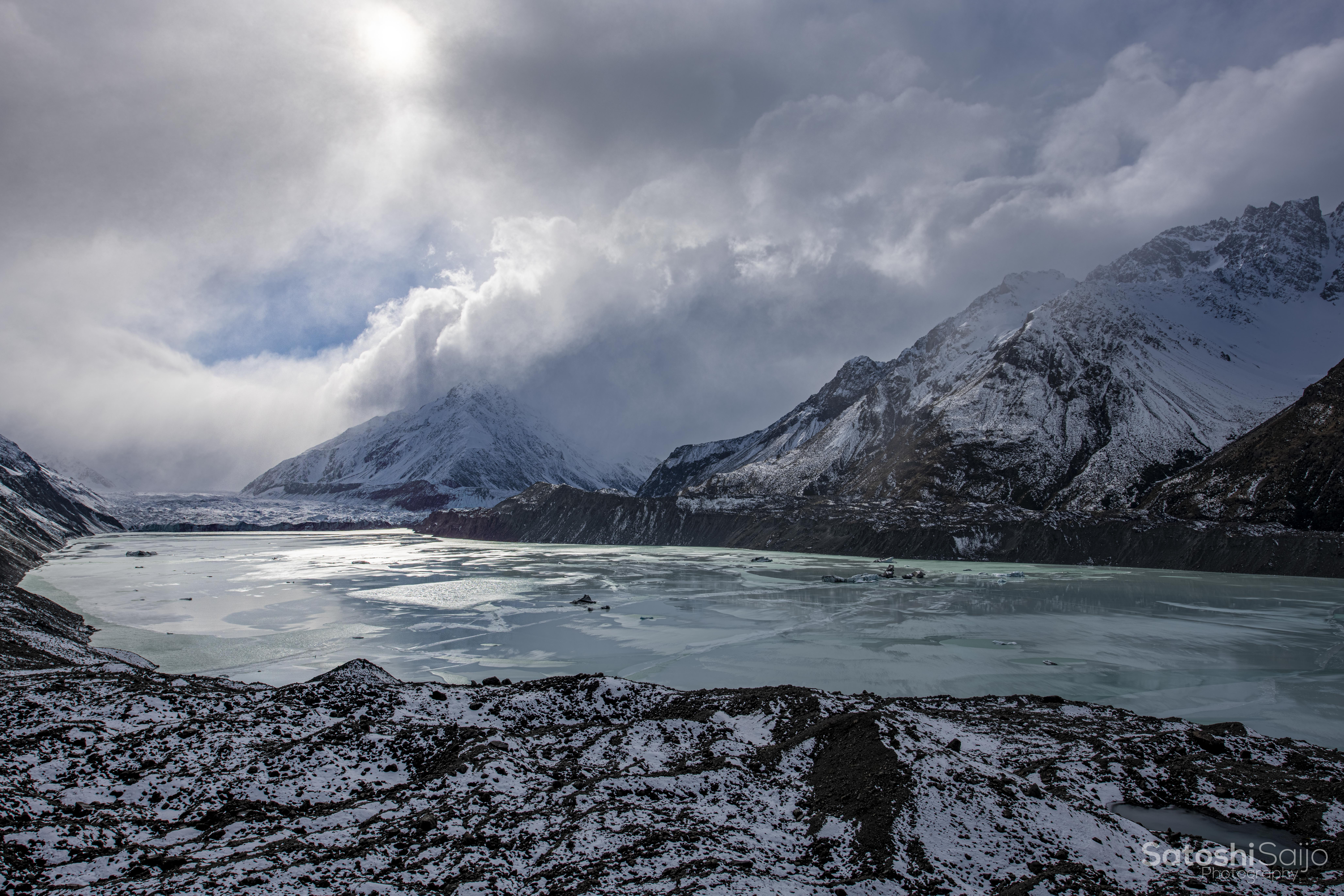 New Zealand〜タスマン氷河〜