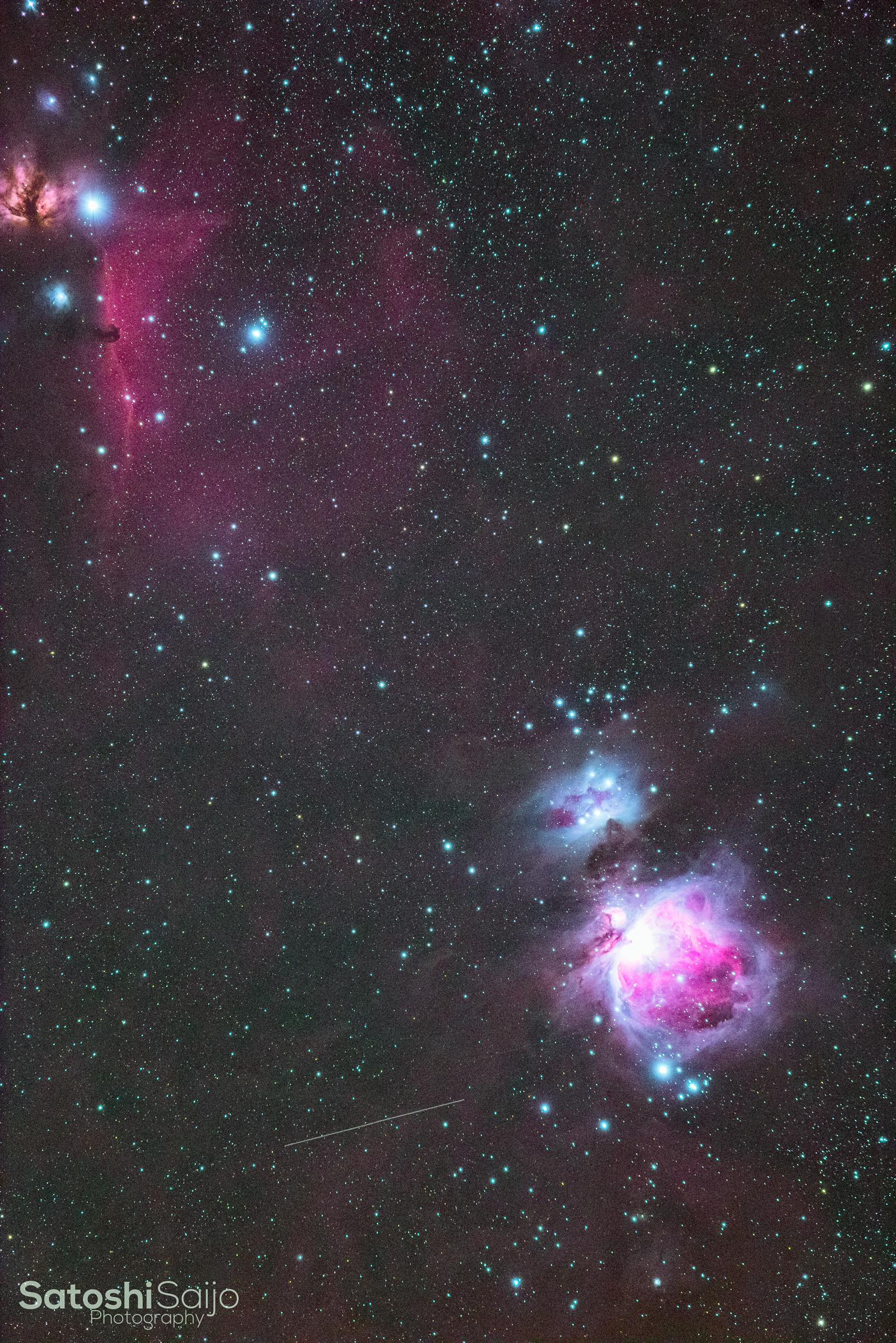 馬頭星雲〜M42オリオン大星雲