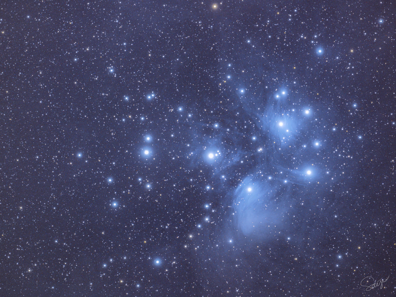 """プレアデス星団, すばる""""Pleiades"""""""